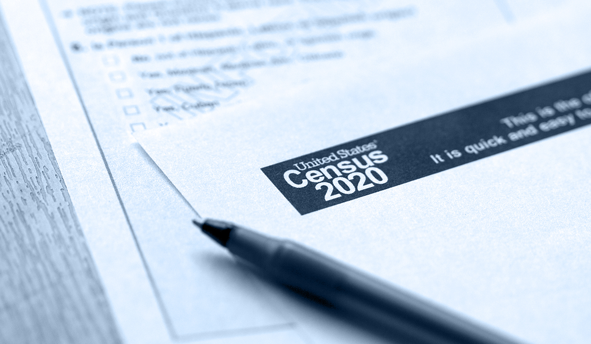 2020 Census paperwork