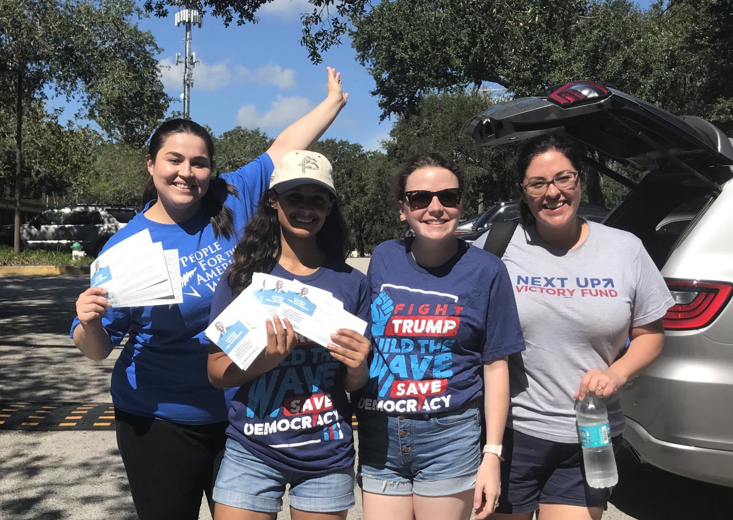 Image of Indivisibles canvassing in Florida