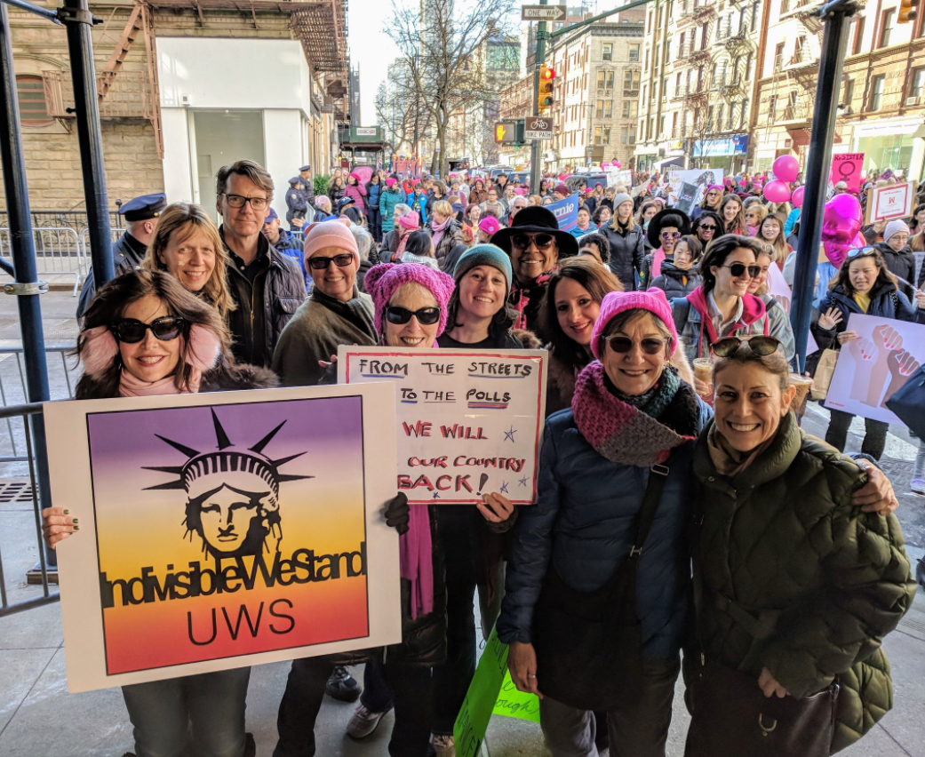 Image of Indivisible UWS at the Women's March