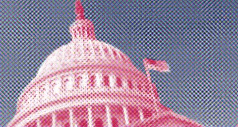 Stylized image of the Capitol Building