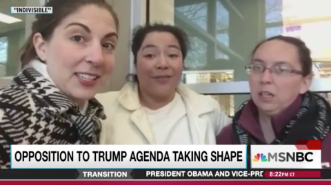 Roanoke Indivisible featured on the Rachel Maddow show.